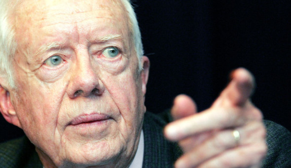 Jimmy Carter speaks up!