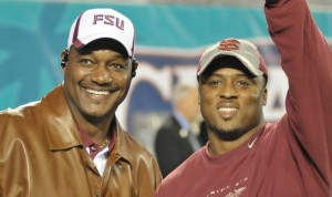 Derrick Brooks and Warrick Dunn, http://miamiherald.typepad.com/florida-state/2013/09/trio-of-former-seminoles-nominated-for-nfl-hall-of-fame.html